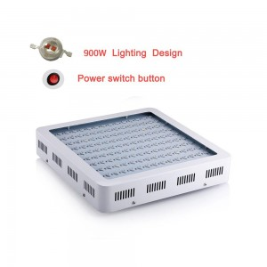 High power led grow light plant full spectrum 900W hydroponic light For green house