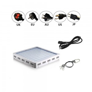 2017 hydroponic growing 1600W led plant grow light double chips led grow light