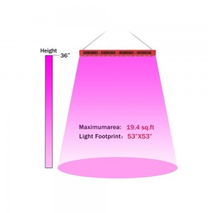 High power plant growth light full spectrum 1680W led grow light hydroponic