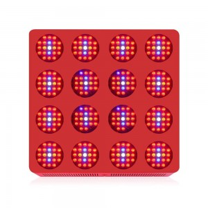 High yield hydroponic LED grow light 3360W double chips led light high power
